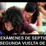 Adiós exámenes de septiembre