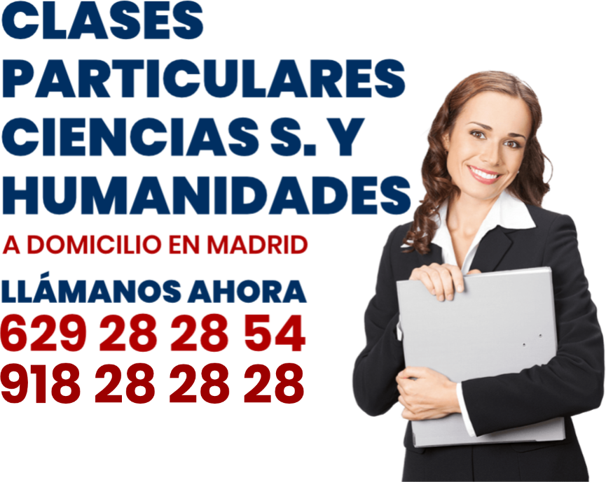 clases particulares ciencias sociales en Madrid