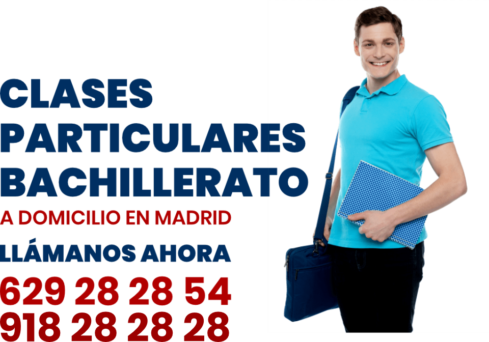 clases particulares bachillerato en Madrid