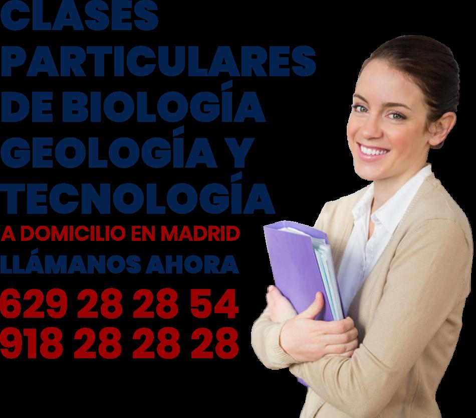 clases particulares biologia tecnología y geología en Madrid