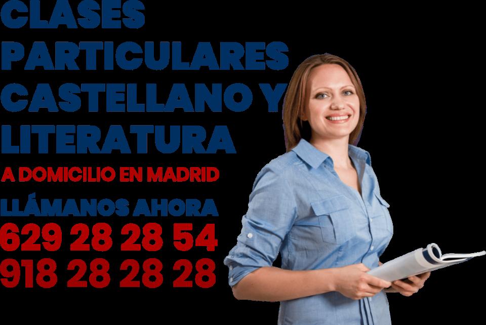 clases particulares de castellano y literatura en Madrid