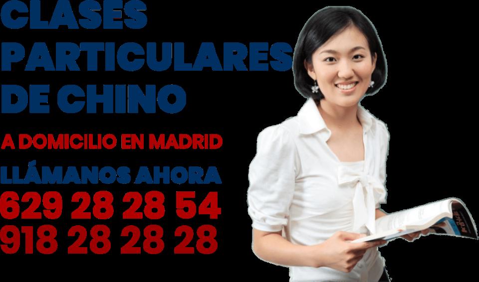 clases particulares de chino en Madrid
