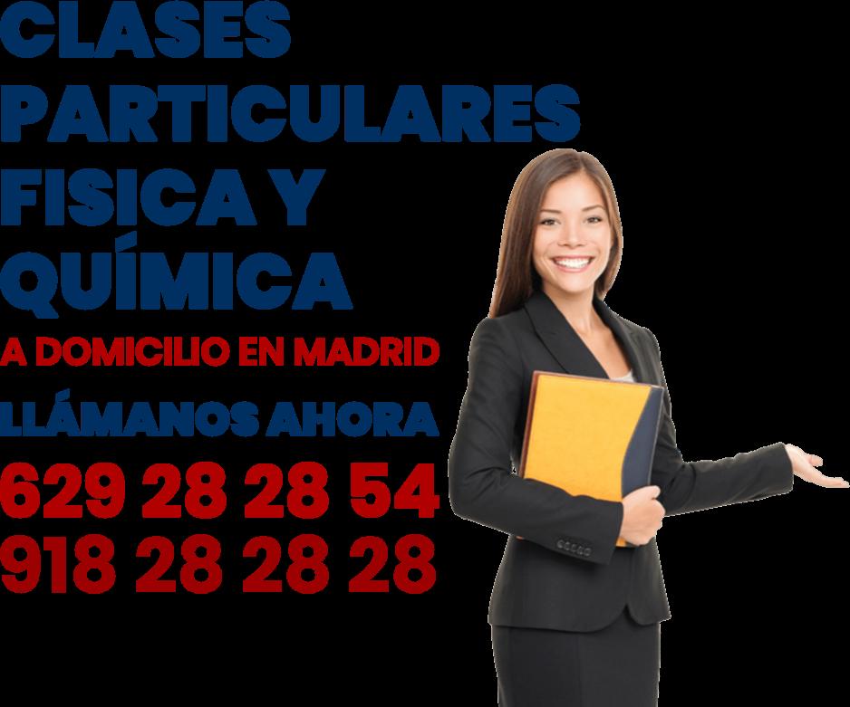 clases articulares física y química en Madrid