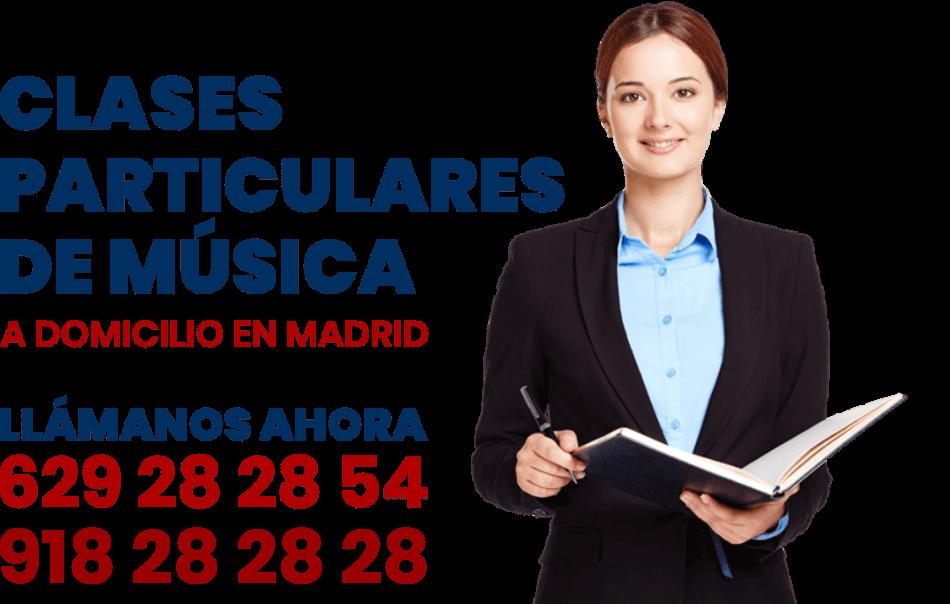 clases particulares de music a domicilio en Madrid