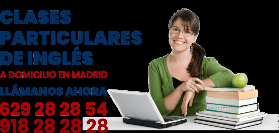 clases particulares ingles a domicilio en Madrid