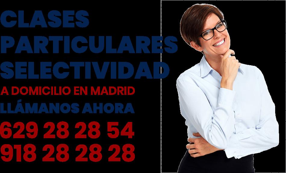 clases particulares selectividad en Madrid