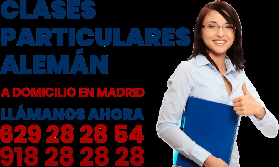 clases particulares de aleman a domicilio en Madrid
