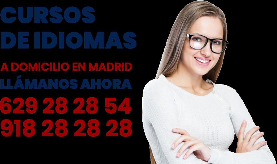clases y cursos de idiomas a domicilio en Madrid
